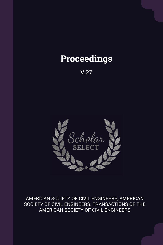 Download Proceedings: V.27 pdf epub