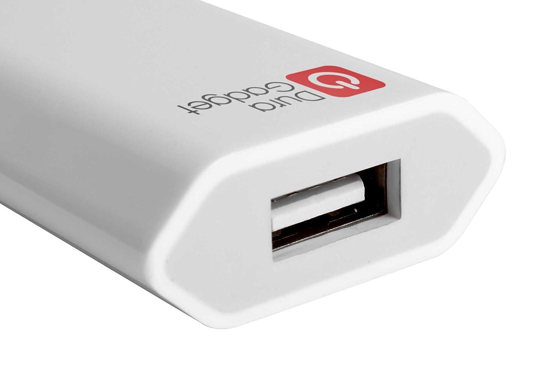 DURAGADGET Chargeur Secteur de voyage USB pour cam/éra embarqu/ée//cam/éscope TomTom Bandit Garmin Virb X et XE chiffon microfibre Replay XD Prime X