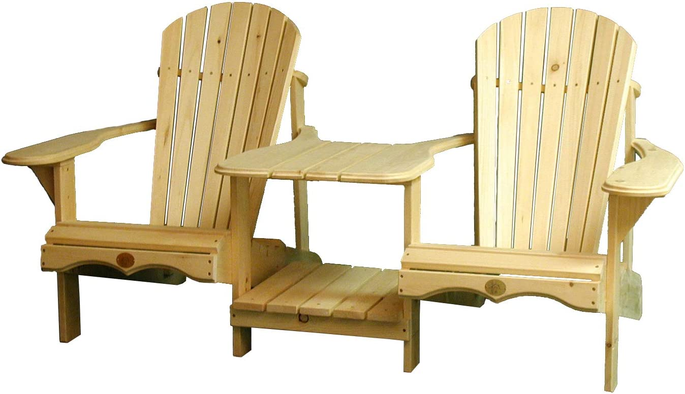 Rustic Natural Cedar Furniture 0400900P Pine Tete Furniture, Natural