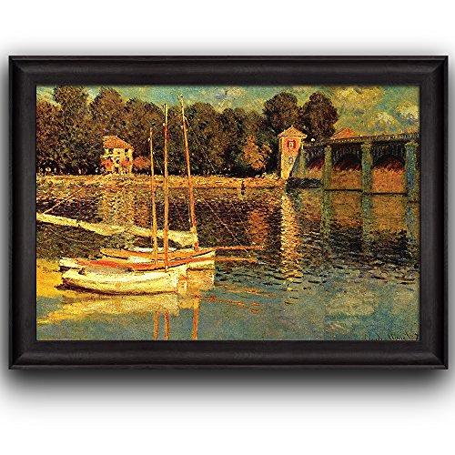 The Bridge of Argenteuil by Claude Monet Framed Art