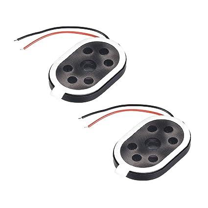 uxcell 1.5W 8 Ohm Mini DIY Speaker Replacement Loudspeaker 20mmx30mm on