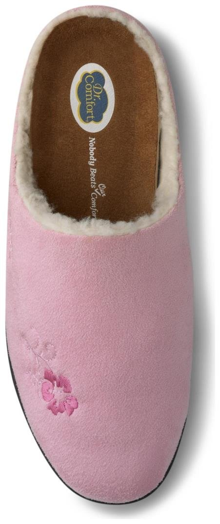 Dr. Comfort Women's Cozy Pink Diabetic Slippers by Dr. Comfort (Image #2)