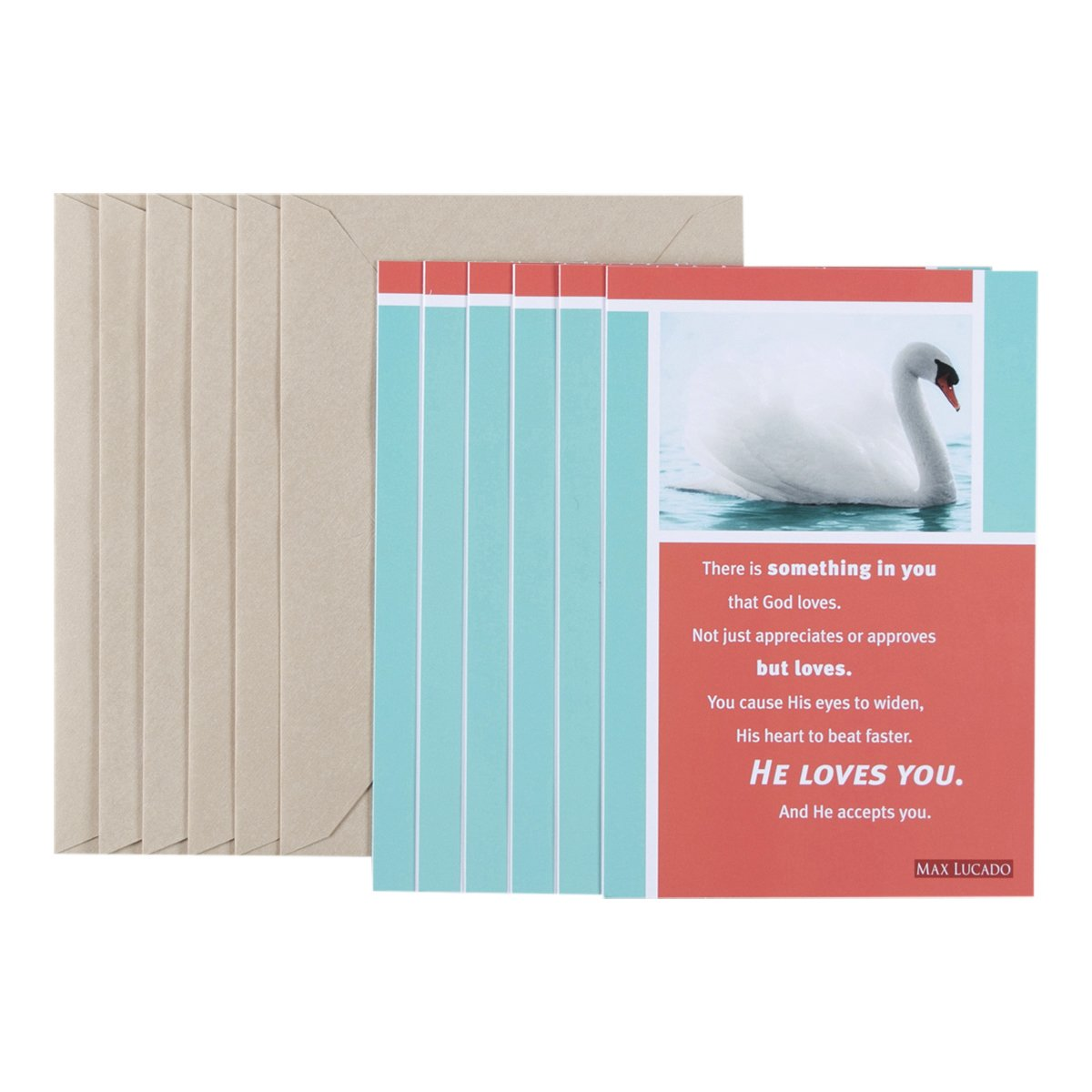 Amazon birthday inspirational card pack max lucado swan amazon birthday inspirational card pack max lucado swan 6 count office products kristyandbryce Choice Image