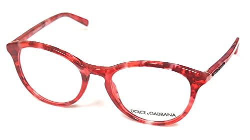4034b763c12c Image Unavailable. Image not available for. Colour: Dolce & Gabbana  Eyeglasses DG3223 2923 Red ...