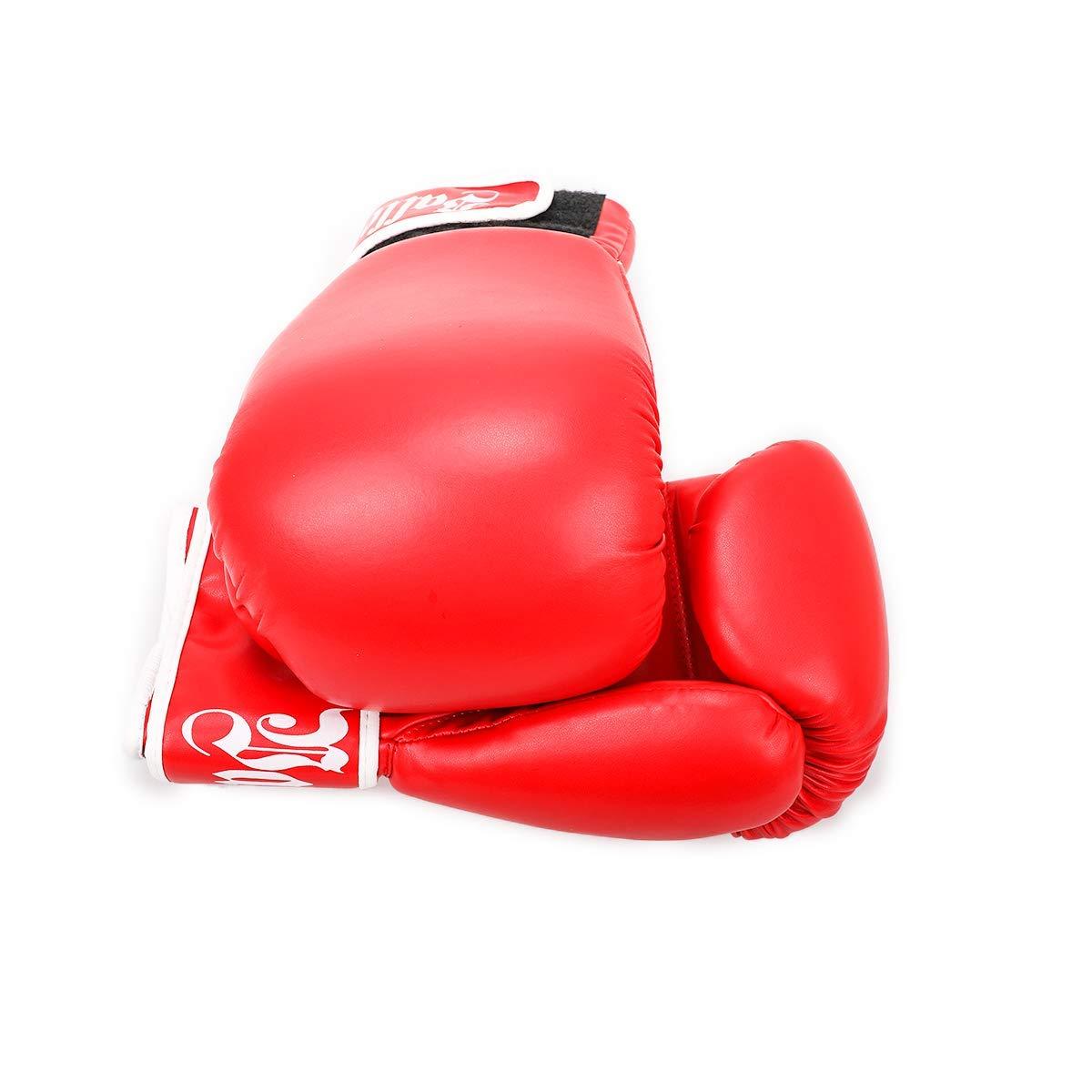 Kickboxing Bagwork Gel Sparring Training Gloves Valleycomfy Pro Grade Boxing Gloves Muay Thai Style Punching Bag Mitts Fight Gloves Men /& Women Renewed