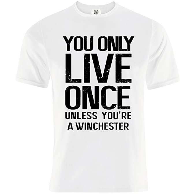 Endlessfugitive Yolo Supernatural Winchester T Shirt Pour Homme