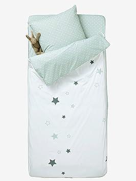Vertbaudet Saco de Dormir con nórdico Burbujas Blanco/Gris 89: Amazon.es: Hogar