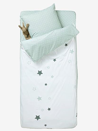Vertbaudet Saco de Dormir con nórdico Burbujas Blanco/Gris 89