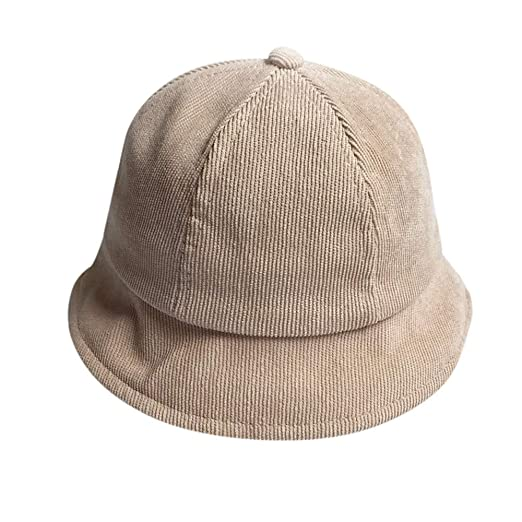 Bucket Hat for Boys and Girls Sun Protection Sun Hat for Kids Newborn  Toddler (Beige c107d585a6a