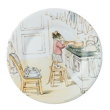 Petit Jour Paris Mimmi y zumbidos en la cocina platos de melamina: Amazon.es: Bebé
