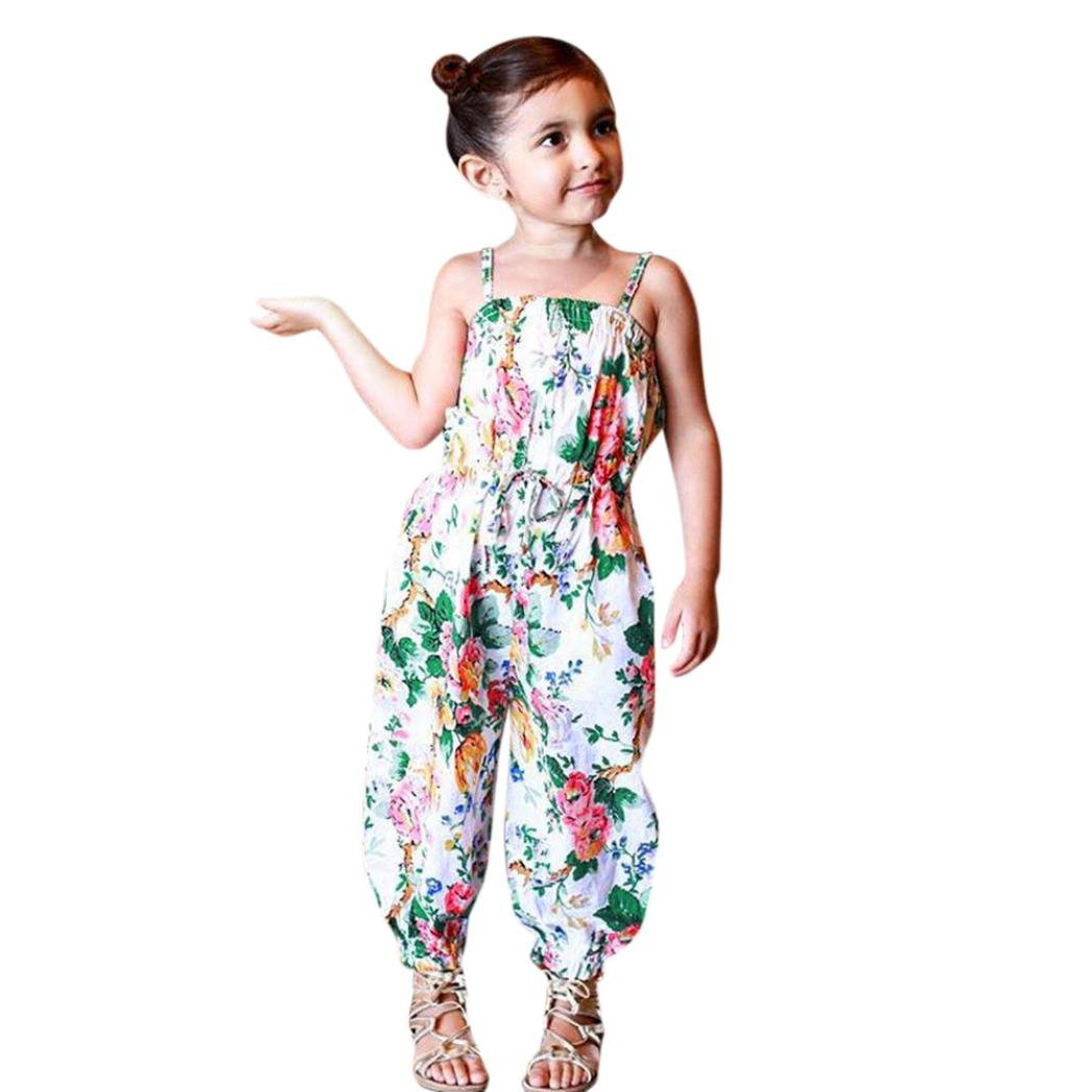 beb8dd51b8f3 Amazon.com  Boomboom Baby Girls Summer Jumpsuit