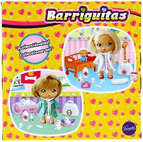 Amazon.es: los Barriguitas Muñeca Doctora clínica, Multicolor (Famosa 700015041): Juguetes y juegos