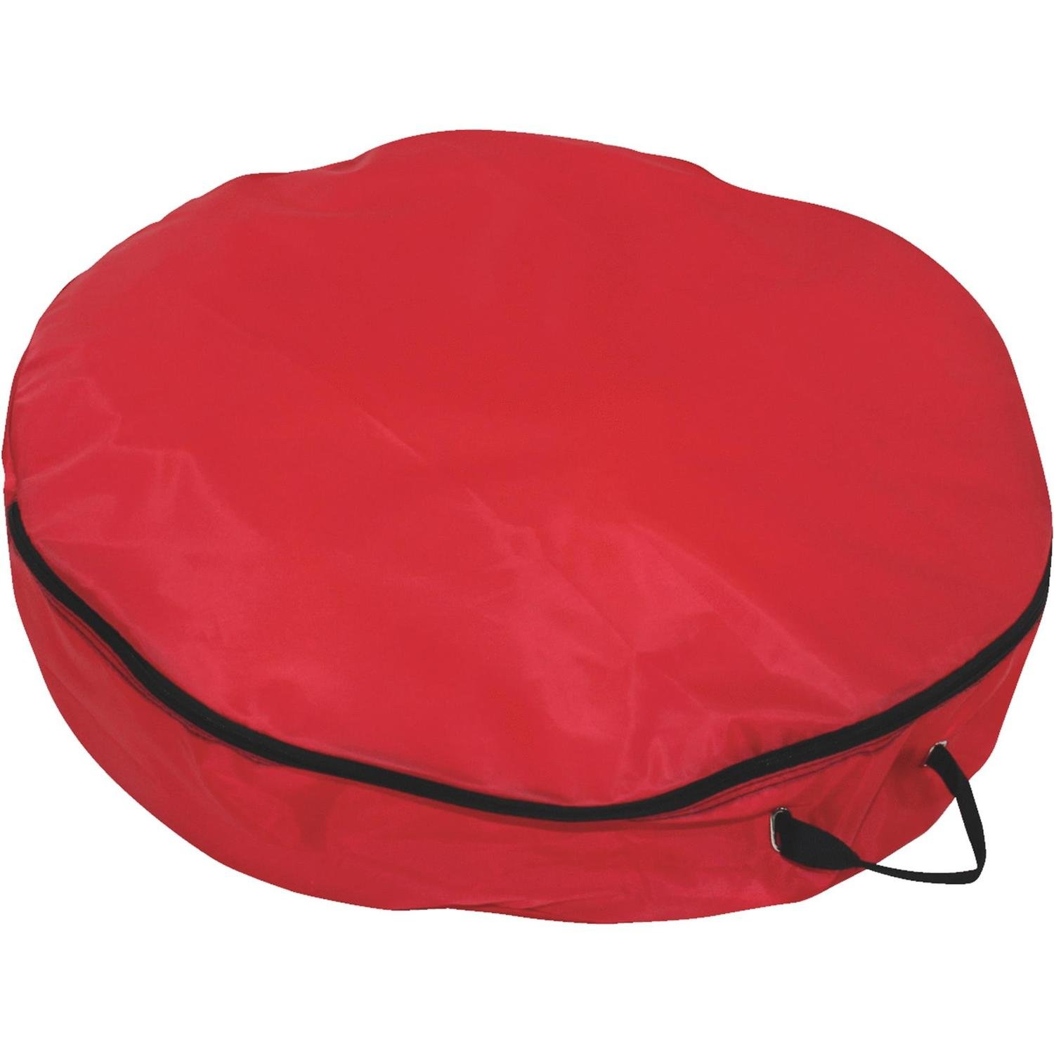 Dyno 24'' Lightweight Red Christmas Wreath Storage Bag with Handles