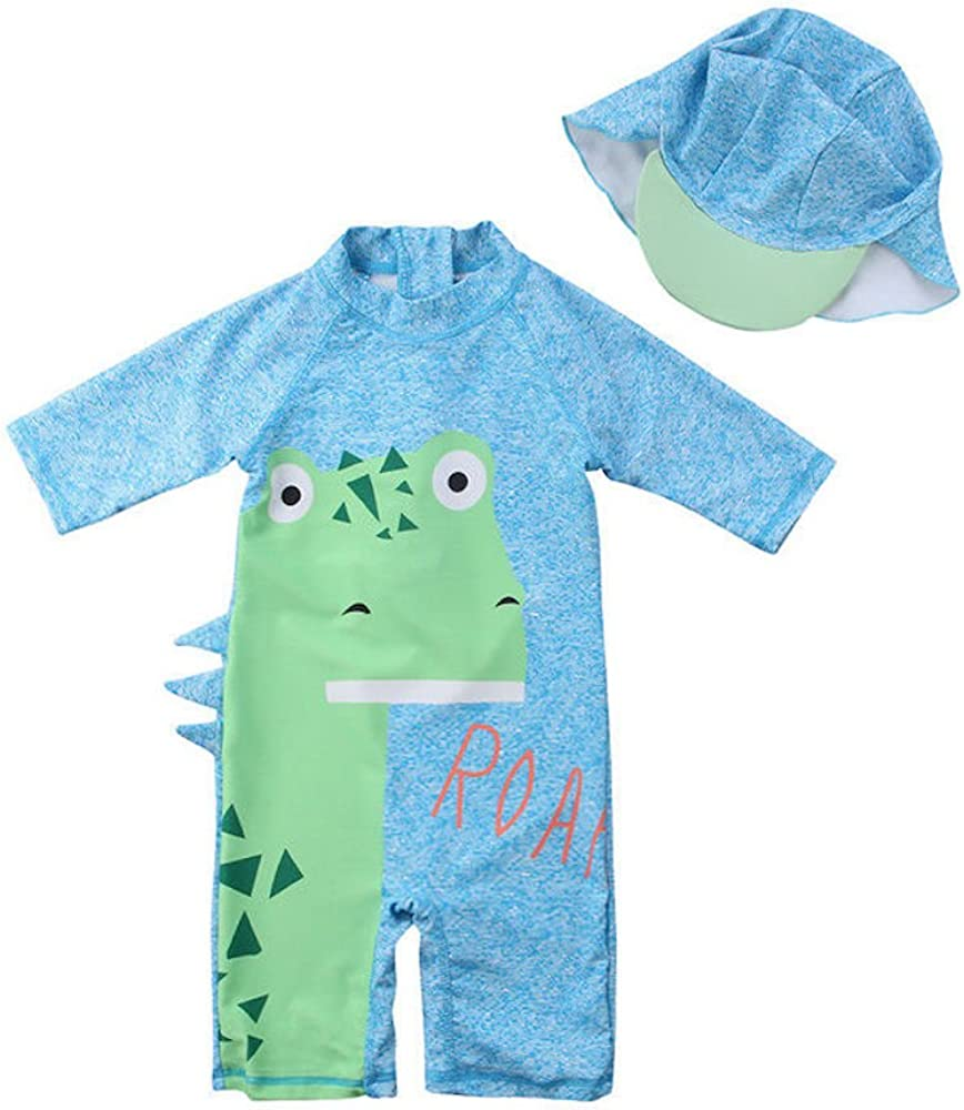 EZB Childrens All-in-One Sun Protection Swimsuit