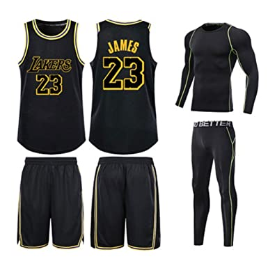 Lakers Lebron James # 23# 24 Jersey, Mallas de Secado rápido ...