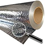 RadiantGUARD CLASSIC Entry Level Radiant Barrier 48-inch 1000 square feet (C-1000-B) – Reflective Aluminum Breathable Attic Roof Foil Insulation – BLOCKs 95% Radiant Heat / 99% RF Signals SCIF RFID