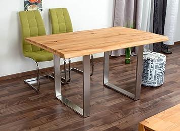 Esstisch Wooden Nature 412 Kernbuche Massiv Geölt Tischplatte