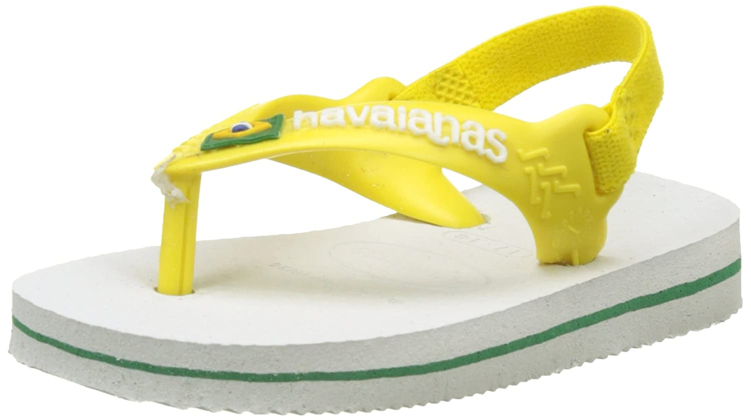 Havaianas Brasil Logo II, Tongs Mixte bébé Tongs Mixte bébé 4140577