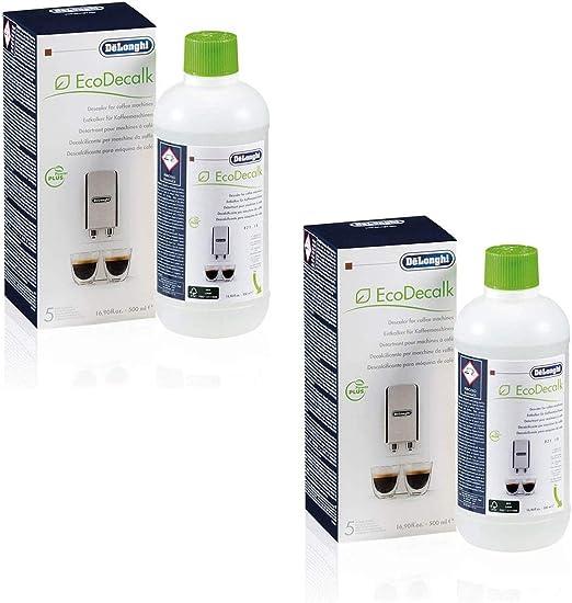 DeLonghi SER3018 - Descalcificador ecológico para cafeteras (500 ...