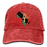 Moonmoon Unisex Africa Anchor Signal Personal Group Sports Cowboy Cap Peaked Baseball Cap