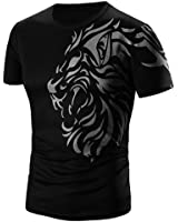 Neartime Men's Tee, Summer Casual Short Sleeve T-Shirt For Men Sport Clothes