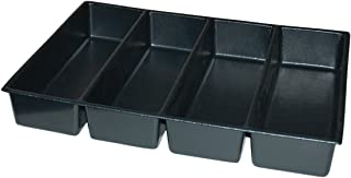 """product image for Kennedy Manufacturing 81930 4"""" 4-Compartment Divider for 29"""" W Kennedy Roller Cabinets & Chests, Industrial Black"""