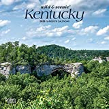 Kentucky Wild & Scenic 2020 7 x 7 Inch Monthly Mini Wall Calendar, USA United States of America Southeast State Nature