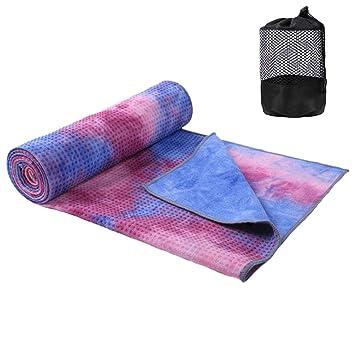 Amazon.com : Yoga Towel Sweat Wicking Super Soft XL Yoga ...