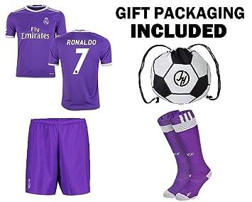 JerzeHero Set de regalo del Real Madrid, Ronaldo n.º 7, para