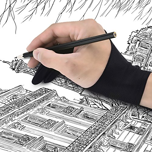 Mudder-Tablet-Drawing-Glove-Artist-Glove-for-Light-Box-Graphic-Tablet-Pen-Display-and-iPad-Pro-Pencil-Black