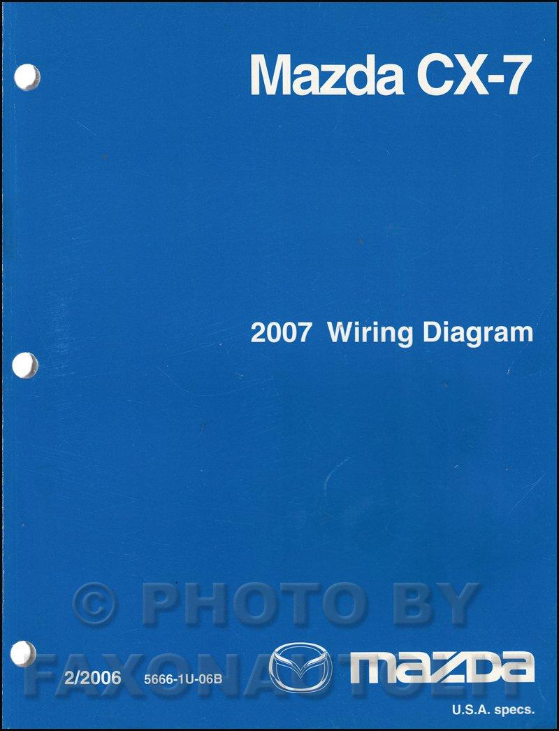2007 mazda cx-7 wiring diagram manual original: mazda: amazon.com: books  amazon.com