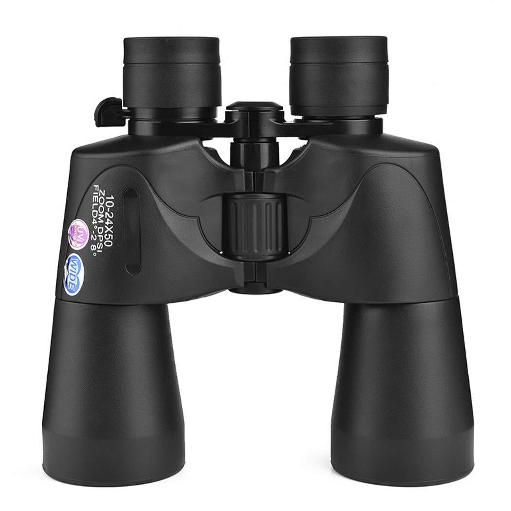 WQ ハイパワーMF10-24x50DPミリタリー双眼鏡、コンパクトHDプロフェッショナル/日常防水双眼鏡、バードウォッチングハンティングフットボール - BAK4プリズムFMCレンズ B07RXZ7X7T