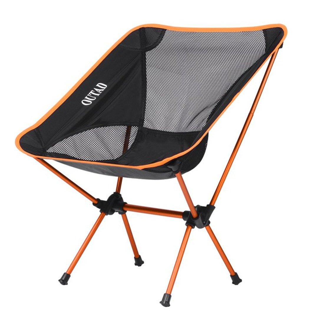 outad silla de camping silla de pesca plegable silla ...