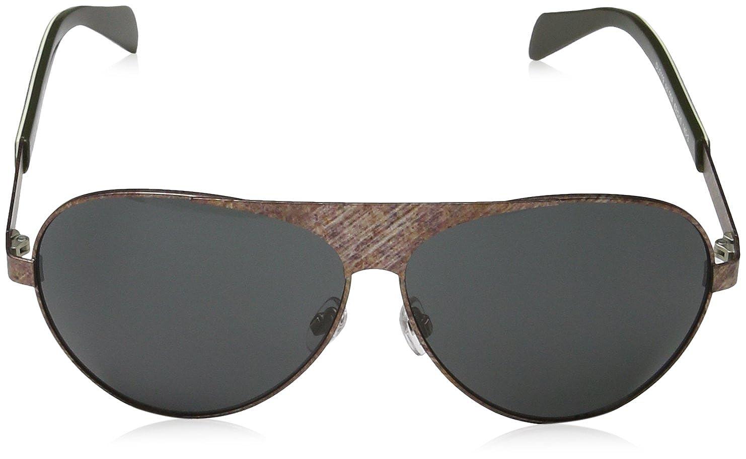 Diesel Unisex Sonnenbrille DL0119, Braun (Braun 09A), Medium