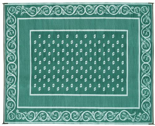 Faulkner 48702 Vineyard 9 by 12-Feet Green Multi-Purpose Mat