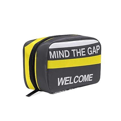 Bolsa de maquillaje Mind The Gap Welcome bolsa de cosméticos ...