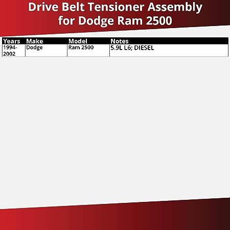 Accessory Drive Gates Serpentine Belt for 1994-2002 Dodge Ram 2500 5.9L L6