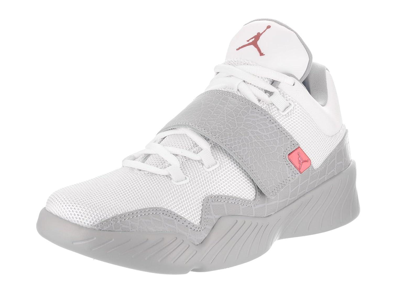 Jordan J23 Men's Shoes White/Gym Red/Wolf Grey 854557-102 B01N9XL4JK Parent