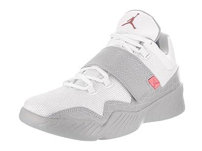 Jordan Chaussure 854557 Monochrome J23 Tissu Nike Cuir Et Blanc En TKJc31lF