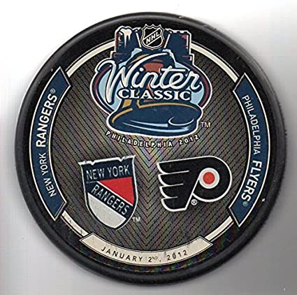 0a029050162765 Image Unavailable. Image not available for. Color: 2012 Winter Classic  Philadelphia Flyers vs New York Rangers NHL ...