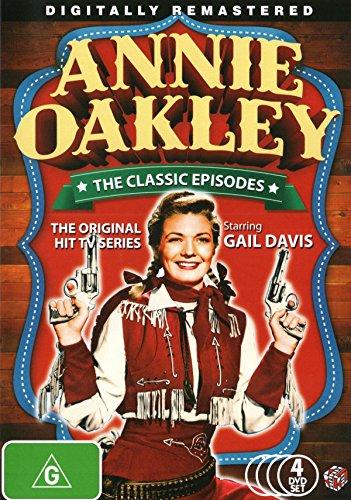Annie Oakley The Classic Episodes | Gail Davis | 4 Discs | NON-USA Format | PAL | Region 4 Import - - Australia Oakleys