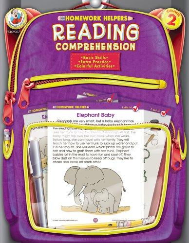 Reading Comprehension Homework Helper, Grade 2
