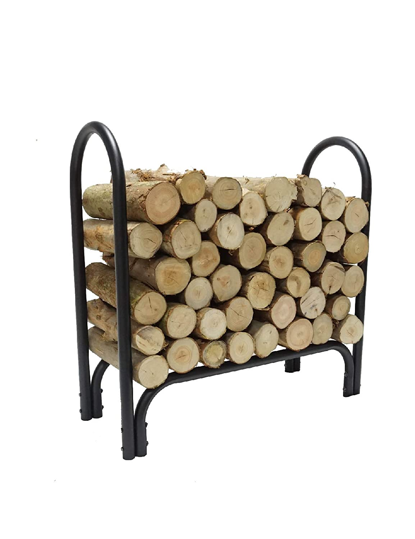 Fire Beauty 2.75 FT Firewood Storage Log Rack Holder Small