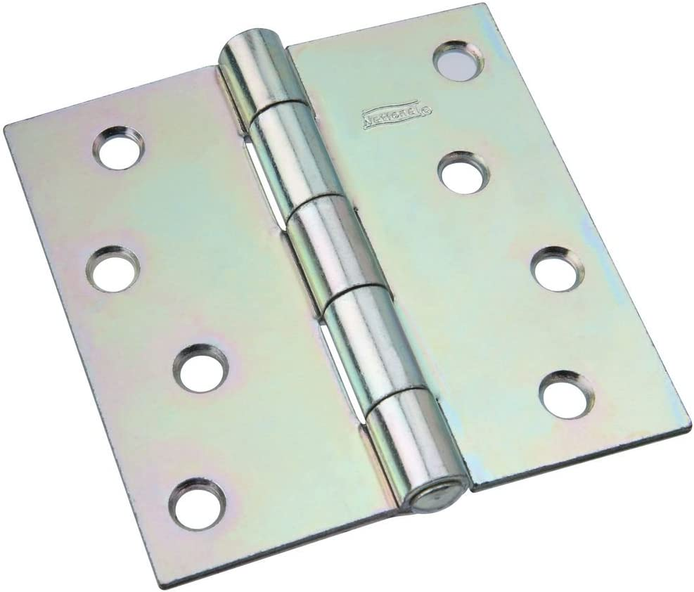 National Hardware N140-723 505BC Non-Removable Pin Hinge in Zinc plated