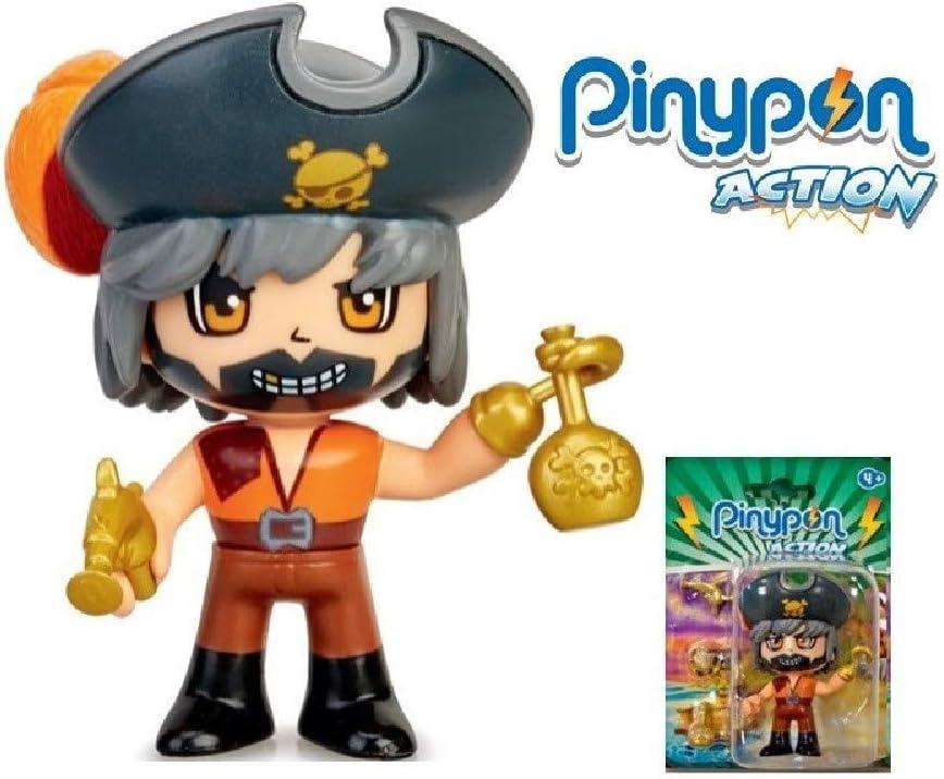 Pinypon Action - Figura Pirata (Famosa 700015581): Amazon.es ...