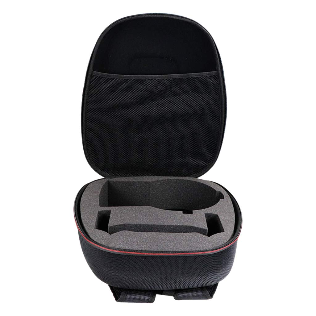 SODIAL Portable Vr Case,Travel Storage Hard Carry Case for Rift S Pc-Powered Vr Gaming Headset,Controller Accessories Protective Bag