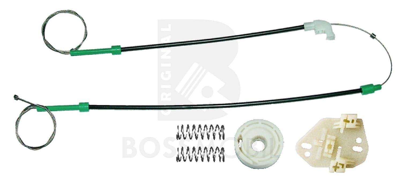 Delantero derecho VI 6 GAL, AVL,AAL,ABL VII 7 kit de reparaci/ón de elevalunas el/éctricos Bossmobil Escort V 5