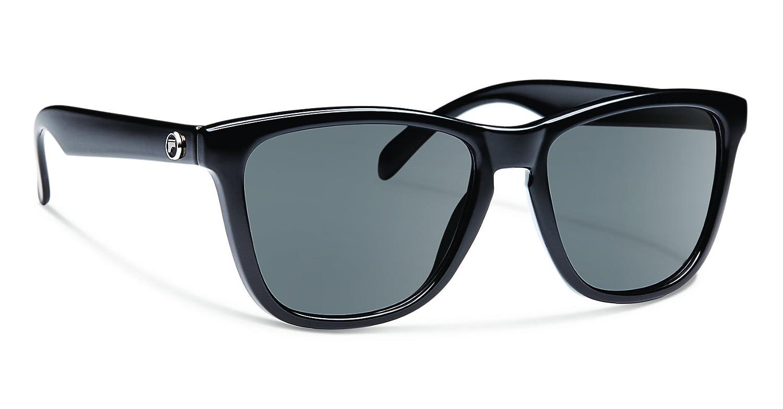 936af72f3b Amazon.com   Forecast Optics Jan Sunglass with Black Gray Polarized  Polycarbonate Lenses   Sports   Outdoors
