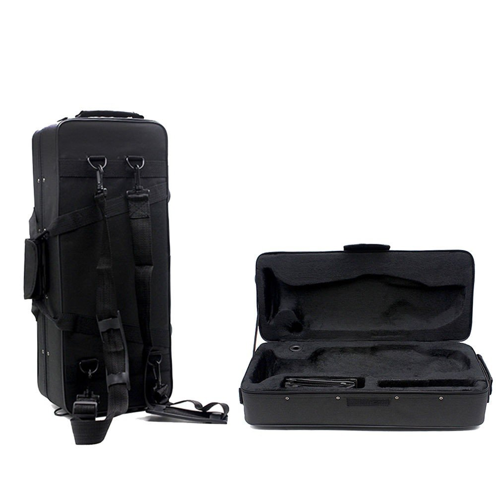 New Fashionable Musical Trumpet Hard Case Big Bag Case Black NOT APPLICABLE