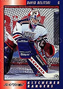 David Belitski Hockey Card 1994-95 Kitchener Rangers #2 David Belitski